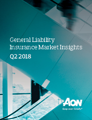 General Liability Insurance Market Insights – Q2 2018