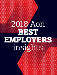 2018 Aon Best Employer Insights